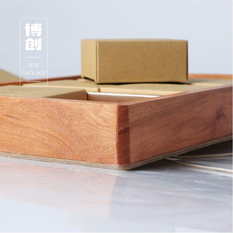 茶叶必威体育网址盒、文艺范、古朴、纸木结合